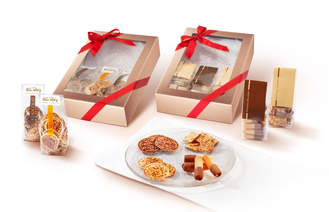 Geschenkboxen von Kambly