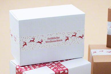 Klebeband mit Weihnachtsmotiv