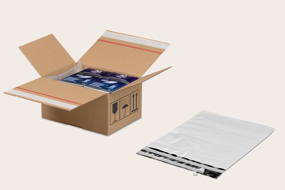 Die Verpackung sollte für den Zweitversand geeignet sein