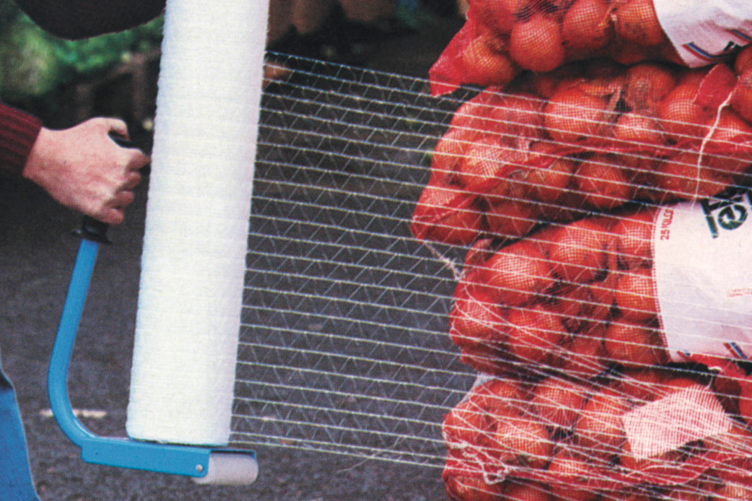 Das Stretch-Netzt sorgt für Luftzirkulation