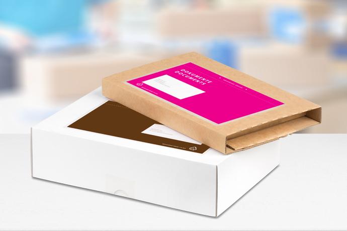 Bunte Dokumentenhüllen stärken Ihre Marke