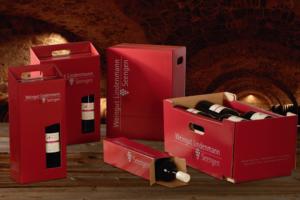 Individuell bedruckte Flaschenverpackungen