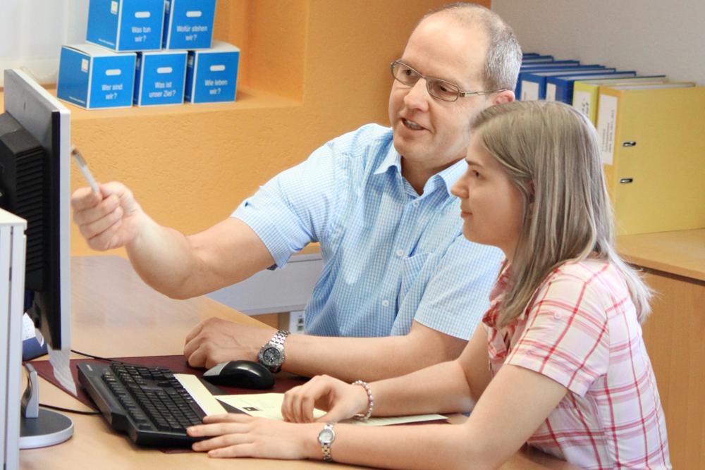 Individuelle Betreung bei der Ausbildung bei MEDEWO