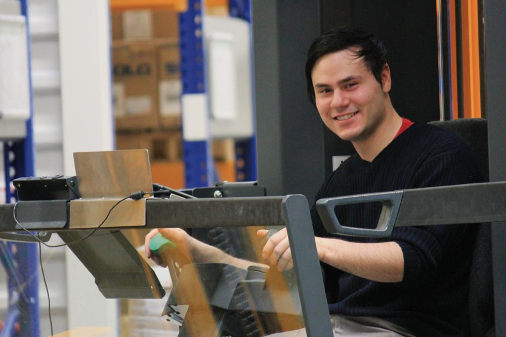 Bei MEDEWO sich zur Logistikfachkraft ausbilden lassen