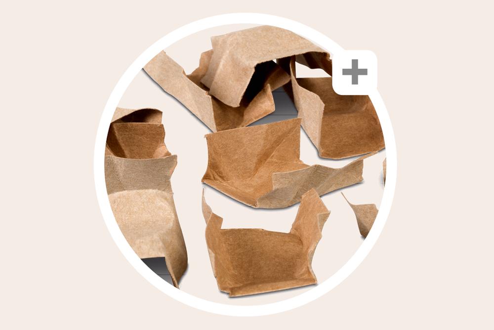 Papier-Verpackungschips: Stabil, dank Brückenform
