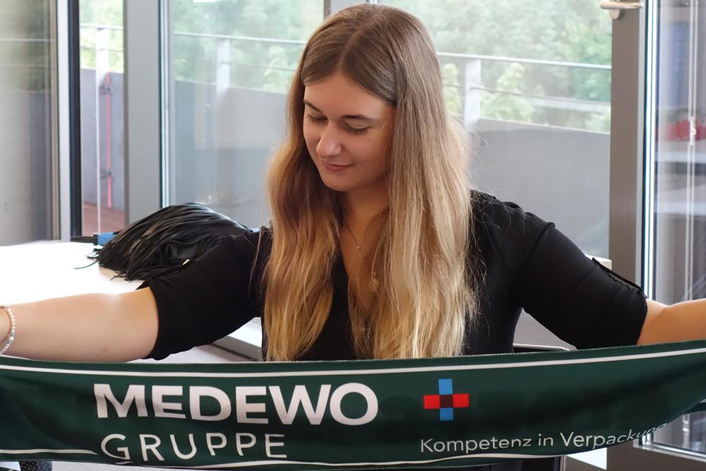 Erster Tag als Auszubildende von MEDEWO