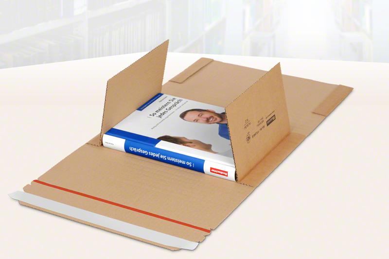 MECAWELL® A braun Buch- & Medienverpackung