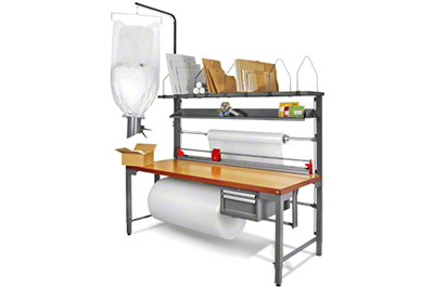 Packtisch mit individueller Ausstattung