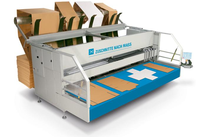 Herstellung von Maßverpackungen