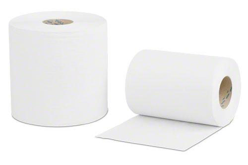 Papierhandtücher auf der Rolle