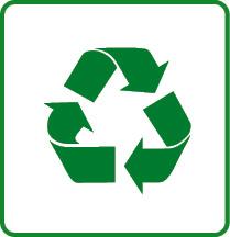 Icon Graspapier Wiederverwertung