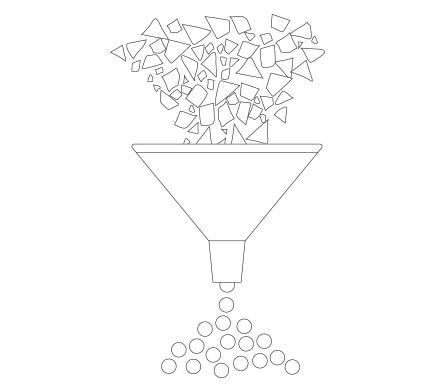 Granulieren von Kunststoff-Flakes