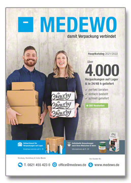 Cover MEDEWO-Hauptkatalog Deutschland 21/22