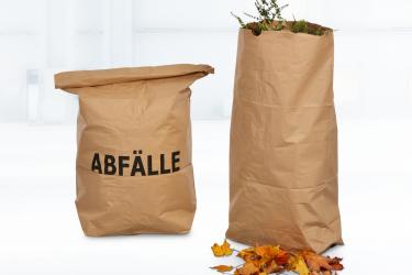 Nachhaltiger Abfallsack aus Papier
