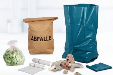 Material, Größe und Stärke sind bei Müllsäcken entscheidend