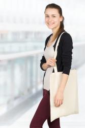 Mehrwegtaschen aus Baumwolle
