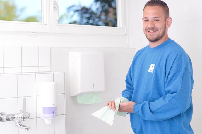 Mit Papierhandtüchern haben Sie die Hygiene im Griff