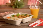 Lebensmittelverpackungen aus Bagasse