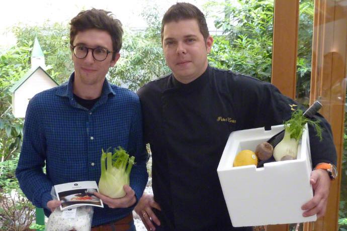 G. Einetter (Le Foodink), P. Zinter (Chefkoch Restaurant Vinzent), Thermobox von MEDEWO