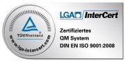 TÜV Rheinland ISO_Zertifizierung_9001_2008