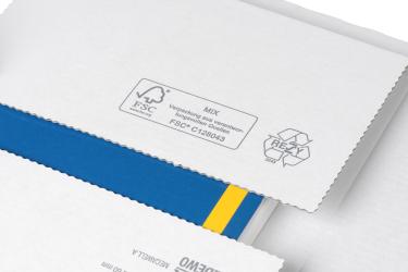 Dank ihrer Zertifizierung darf MEDEWO ihre Produkte mit dem PEFC- oder FSC-Label kennzeichnen