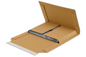 Medienverpackung für den Buchversand
