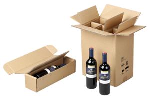 Optimale Verpackung für den Flaschenversand