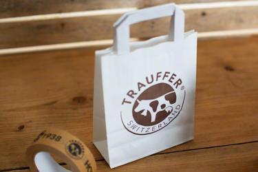 Papiertragetasche - individuell mit Logo bedruckt