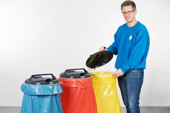 Abfälle im Betrieb entsorgen