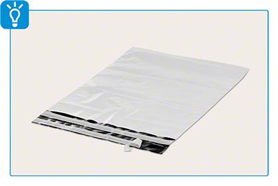 Folien-Versandtasche mit Bodenfalte