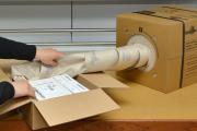 Verpackungsmaterial aus Spenderkartons