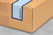 Mit Sicherheitsetikett Ware beim Versand schützen