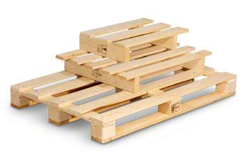 Einweg-Holzpalette