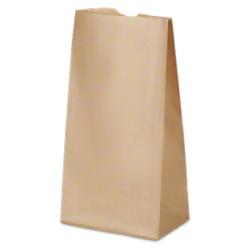 Beutel aus Kraftpapier
