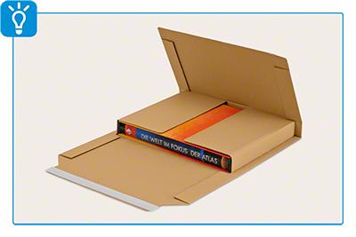 Buch- und Medienverpackung