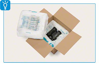 Mit Schaumverpackung schützen