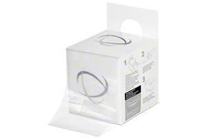 Sicherungsdehnband im Spenderkarton