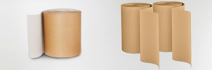 Rollenwellpappe als nachhaltiger Oberflächenschutz