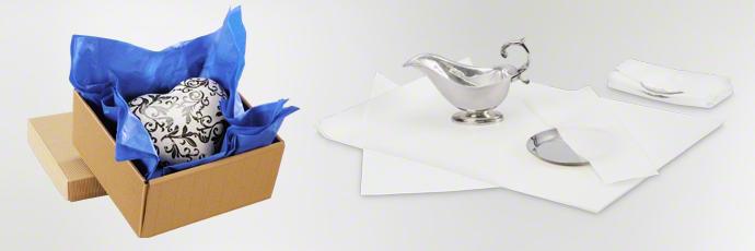 Seidenpapier als nachhaltiger Oberflächenschutz