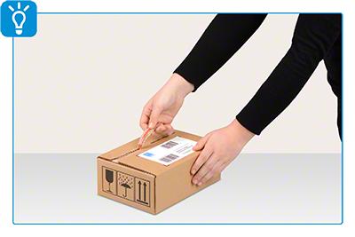 Versandbox ECO mit Aufreißhilfe