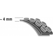 Luftpolsterfolie 150 µm - 200 µm EXTRA STRONG