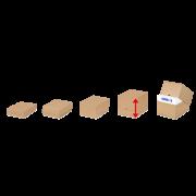 EASYPAC Boîte télescopique