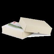 GRAS-PAC Boîte à couvercle en papier d'herbe