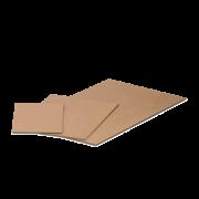 Plaque de recouvrement pour bac KLT en carton ondulé