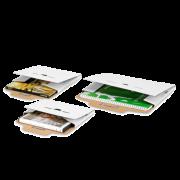 Emballage pour produits plats et calendriers blanc