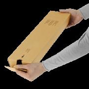 MECAPOST® PLUS Emballage en forme de trapèze