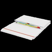 MECAWELL® A blanc Emballage pour livres et catalogues