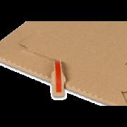 MICROWELL Pochette d'expédition en carton micro-ondulé