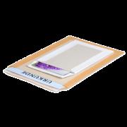 Pochette d'expédition avec dos en carton