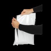 FLEXOMAIL Pochette d'expédition en plastique à soufflet de fond